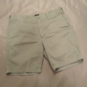 J. crew Stanton army green cotton twill shorts33x9